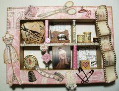 romantisches fotoalbum selber machen mit scrapbooking und art journaling im lavendel look. Black Bedroom Furniture Sets. Home Design Ideas