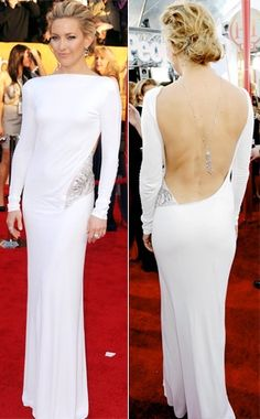 Kate Hudson - backless dresses for the boobless women, so petite ...