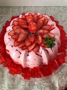 Jello Cake, Jello Desserts, No Bake Desserts, Delicious Desserts, Yummy Food, Gelatin Recipes, Jello Recipes, Donut Recipes, Pastry Recipes