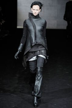 Visions of the Future: Rick Owens Fall 2009 Ready-to-Wear Fashion Show - Karlie Kloss (IMG)