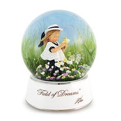 Donald Zolan: Field of Dreams Musical Waterglobe