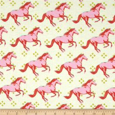 FABRIC   Cotton & Steel Mustang Pink   sold by the Fat Quarter