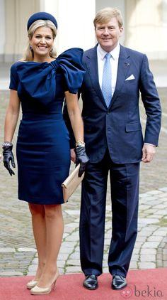 Guillermo Alejandro y Máxima de Holanda reciben a los Reyes de Bélgica