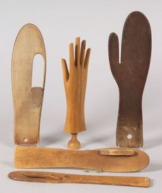 Glove and mitten forms: collection of six pine and maple stretchers and forms, some with separate movable thumb parts. Description from pinterest.com. I searched for this on bing.com/images