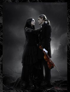 Gothic, love, and a violin...perfection.