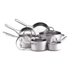 Anolon Chef Clad Stainless Steel 10-Piece Cookware Set Review
