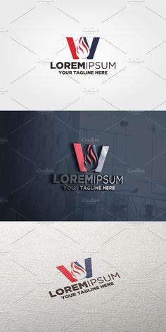 Letter W, Construction Design, Text Color, Vector File, Logo Templates, Photoshop, Illustration, Illustrations