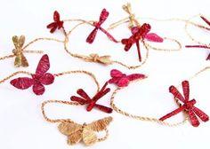 The Dharma Door - jute dragonflies - fair trade - made in Vietnam
