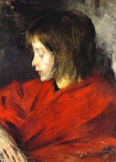 Olga Boznanska - Halka - 1891
