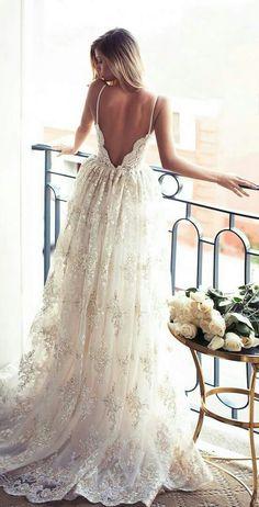 Ethereal Wedding Gown Sexy Wedding Dresses aaa3febc5b89