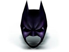Make your own Batman Mask from paper. Download DIY 3D Batman mask template: http://maskhunters.com/masks/batman-mask-template/