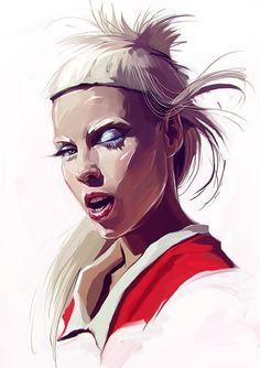 Arte Digital, Digital Art Girl, Digital Portrait, Portrait Art, Painting Portraits, Drawing Skills, Digital Illustration, Character Illustration, Fantasy Illustration