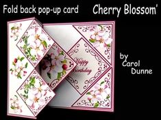 Deluxe 3D Pop-up Swing Greetings Card Butterfly Ladies Girls Mums Birthday Party