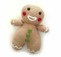 Ravelry: Project Gallery for Gingerbread Man pattern by Hollie Broadbent