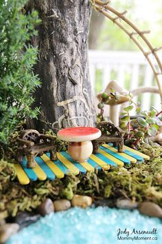 Fairy Garden Stepping Stones Fairy garden stepping stone diy fairy garden garden stepping i wanted to make a fairy garden on a budget with a little bit of creativity and some fantastic finds i present to you our fairy garden workwithnaturefo