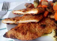 SZÉNHIDRÁTCSÖKKENTETT EBÉD Archives - Szénhidrátcsökkentett Receptek French Toast, Pork, Food And Drink, Low Carb, Wellness, Chicken, Meat, Breakfast, Kitchen