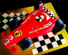 Ιf you want to eat a piece, you better run faster than this red bullet.. this birtday-cake is delicius!!  http://www.kanakis1947.com/#!premium-bithday-cakes/ci50