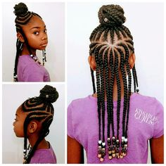 Fulani Inspired Braids with Beads