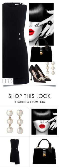 """The Little Black Dress"" by easy-dressing ❤ liked on Polyvore featuring Finders Keepers, Miu Miu, LBD, WhatToWear, polyvoreeditorial and groupcontest"