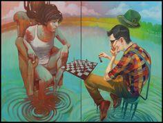 'Check Mate' - by Bezt & Natalia Rak. *N.Rak was born in 1986 in Lodz, Poland.