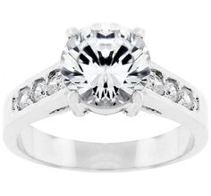 Tampla Serendipity Round Solitaire Engagement Ring | 3.5 ct | Cubic Zirconia