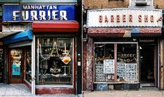 Storefront    Posted by Erica on January 10th, 2011    I absolutely love the raw beauty of these richly colored images of age-old New York City storefronts from James and Karla Murray's book Store Front: The Disappearing Face of New York.