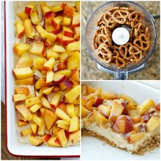 Crunchy pretzels and a creamy filling are topped with the best of the summer's peaches making this Pretzel Peach Dessert an instant favorite! Several years ago, my aunt introduced me to the ever-popular...