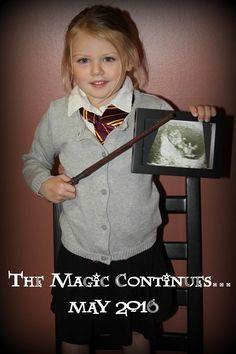 Harry Potter Pregnancy Announcement!