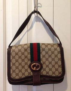 5b6dc0b33bcf Amazing rare vintage Gucci handbag purse from the by SweeetBippy