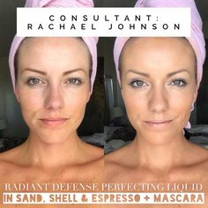 """Rodan + Fields: Radiant Defense Perfecting Liquid for lightweight coverage and that """"finished"""" look without clogging pores. Bb Or Cc Cream, Derma Cosmetics, Rodan And Fields Canada, Coconut Oil For Skin, Moisturizer With Spf, Perfect Skin, Perfect Match, Good Skin, Skin Care Tips"""