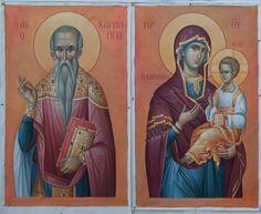 1 post published by iconsalevizakis during April 2016 Jesus Christ Images, Byzantine Icons, Orthodox Icons, Catholic, Saints, Princess Zelda, Painting, Fictional Characters, Child