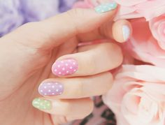 cute pastel dots