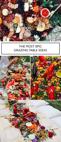 What you MUST know about Grazing Tables before you plan your Wedding Catering What you MUST know before you plan your Wedding Grazing Table! Pros, Cons and Awesome Ideas! Hors D'oeuvres, Food Wallpaper Tumblr, Kfc, Grazing Platter Ideas, Tara Milk Tea, Fresco, Brunch, Food Platters, Party Platters