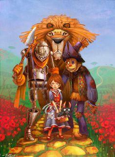 The Wizards of Oz by Jérémie Fleury