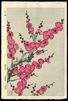 Kawarazaki Shodo (1889-1973) - Plum Blossoms