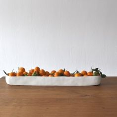 San Francisco designer Tina Frey creates modern resin products for the home, using a thoroughly executed design, hand sculpting, and hand casting process. Her products are all food-safe, making them an excellent serveware solution in the modern kitchen. A new addition to her collection, the Long Trough is a standout vessel that can be used to hold and display fruit, or as a vessel for an artful centerpiece. The resin trough has a distinctive texture beneath the resin, which reveals Tina ...