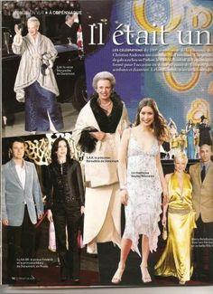 Chronique de la cour  Le 13 avril 2005, le Danemark célebrait le 200eme anniversaire de la naissance de Hans-Christian Andersen . Une grande soirée de gala a eu lieu au Parken , le stade de football de Copenhague transformé pour l'occasion en décor de contes de fées. S.M la Reine Margreth II, L.A.R. le Prince Héritier Frédérik et la Princesse Mary, ainsi que S.A.R la Princesse Benedicte de Danemark honoraient de leurs présences cette brillante soirée.