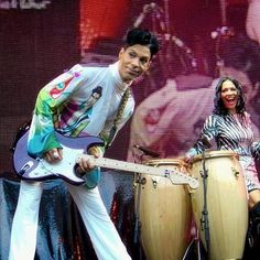 Prince and Sheila E. loving what they do