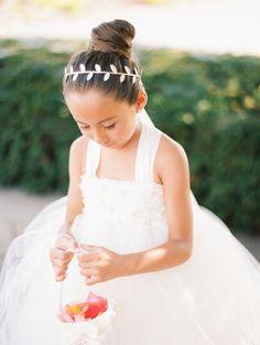 The cutest little flower girl! http://www.stylemepretty.com/vault/gallery/37761 | Photography: Kristin La Voie - http://kristinlavoiephotography.com/