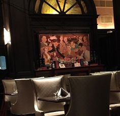 Painting of The Algonquin Round Table in the lobby of the Alonquin Hotel, NYC. Algonquin Round Table, Come Round, Writers, Politics, Nyc, Lunch, Book, Inspiration, Painting