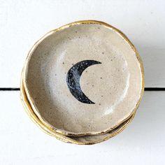 Handmade Gold Lustre Moon Bowl | Etsy