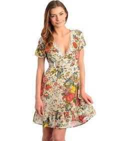 G2 Fashion Square Floral Printed Ruffled Spring Dress « FourSeasonsGlutenFree.com