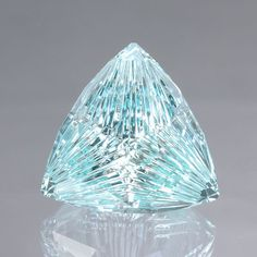 31CTW Aquamarine with amazing cut #Gemstones #Aquamarine