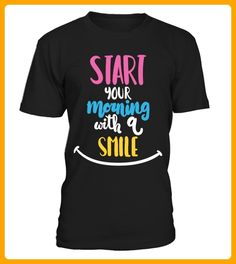 Star your morning with a smile - Smiley shirts (*Partner-Link)