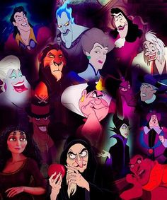 Those are all spooky villians but they're weird too.