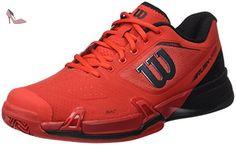 the best attitude 60a68 a8eea Wilson Wrs322640e085, Chaussures de Tennis Homme, Rouge (Red   Black    Barbados Cherry), 42 2 3 EU  Amazon.fr  Chaussures et Sacs