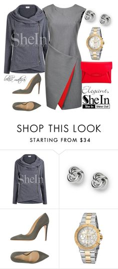 """*****SheIn contest- Win zip grey outerwear****"" by lekhamathias ❤ liked on Polyvore featuring FOSSIL, Armani Collezioni, Invicta, Givenchy, contestentry, lekhamathias and shein"