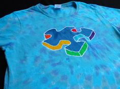 Autism Awareness Puzzle Piece Batik Ladies Large Shirt on Etsy, $25.00