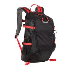 Coleman Kaver Backpack, 25-Liter, Red ^^ Find out more details by clicking the image : Best hiking backpack