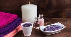 Try these simple and relaxing bath salts recipes! Bath salts provide a number of benefits.See More  #ahapartners